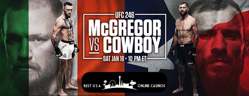 Bet on UFC 246