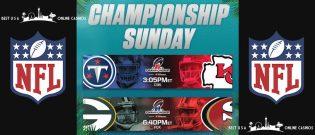 Biggest Online Sportsbook Deposit Bonuses for NFL 2020 Conference Championship Games