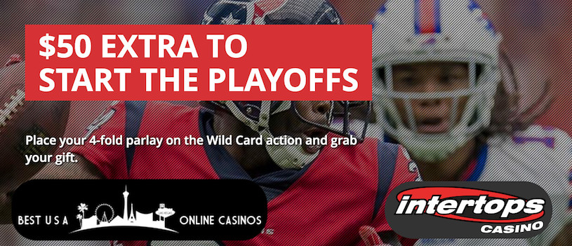 Free $50 for Betting on the 2020 NFL Wildcard Weekend