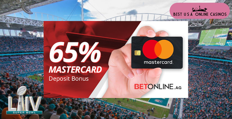 Special MasterCard Super Bowl Deposit Bonus at an Online Sportsbook