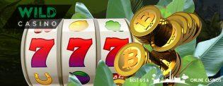 Wild Casino $9,000 Cryptocurrency Welcome Bonus