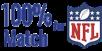 100% Deposit Match Offered for NFL