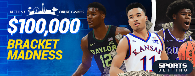 SportsBetting.ag $100,000 March Madness Bracket for 2020