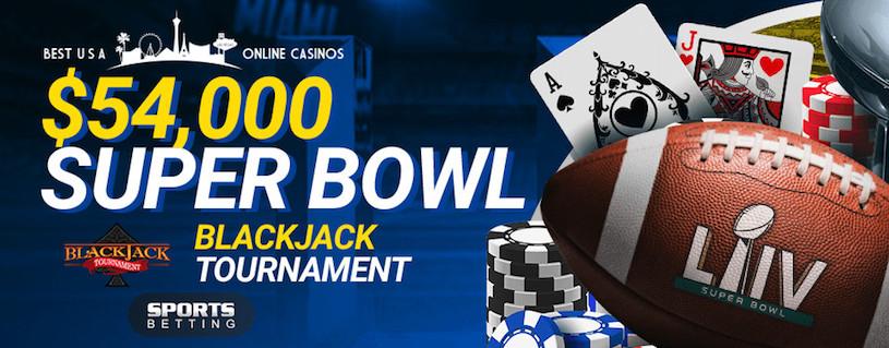 SportsBetting.ag Super Bowl LIV $54,000 Blackjack Tournament