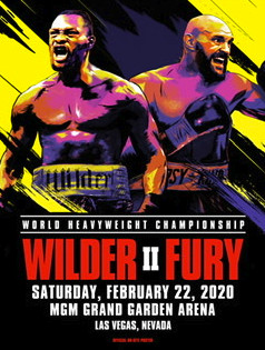 Wilder vs Fury 2 Promotional Poster