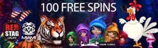 100 Free Spins and Special Bonuses for March 2020 at Deck Media Casinos