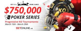 BetOnline 2020 March Madness Knockout Poker Tournament Proceeding