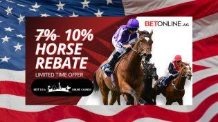 Special BetOnline Racebook Rebate for March 2020