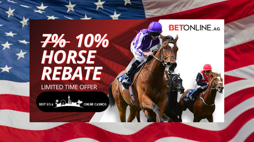 Special BetOnline Racebook Rebate for March 2020