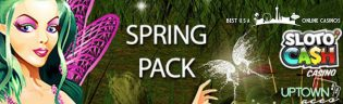 Spring Pack of Free Spins and Deposit Bonuses at USA Online Casinos