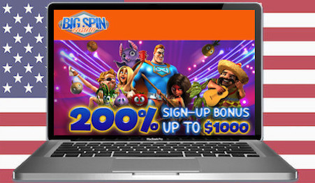 USA Big Spin Casino Main Image