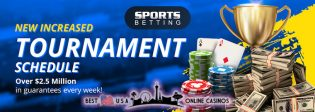 SportsBetting.ag Increased Poker Tournament Schedule 2020