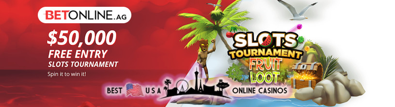 BetOnline Fruit Loot Slots Tournament