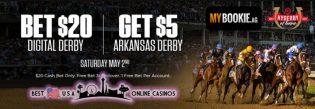 MyBookie Digital Derby Free Bet