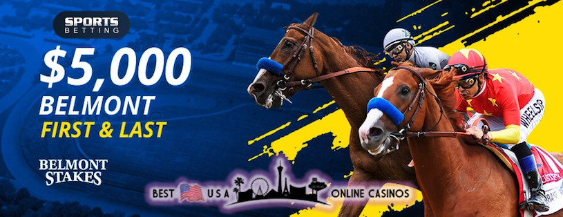 SportsBetting.ag Belmont Stakes 2020 First & Last Contest