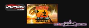 Intertops Summer Dreams Promotion Giving $270,000 in Free Casino Bonus Money