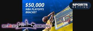 SportsBetting.ag $50,000 NBA Playoffs Bracket 2020