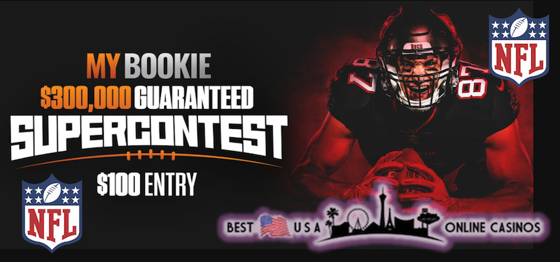 MyBookie $300,000 NFL Supercontest for 2020