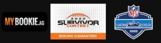 NFL 2020 Survivor Contest at MyBookie Offering $100,000