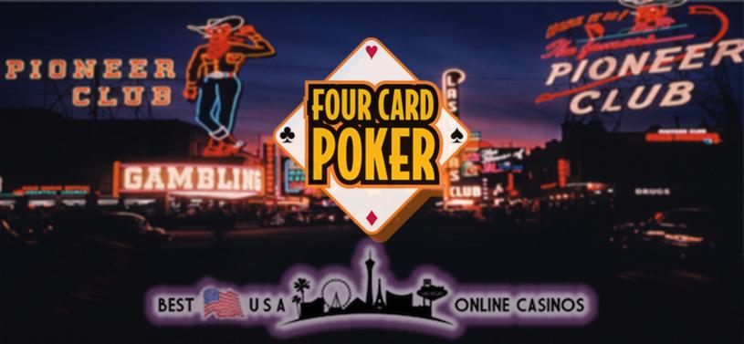 Best Four Card Poker USA Online Casinos