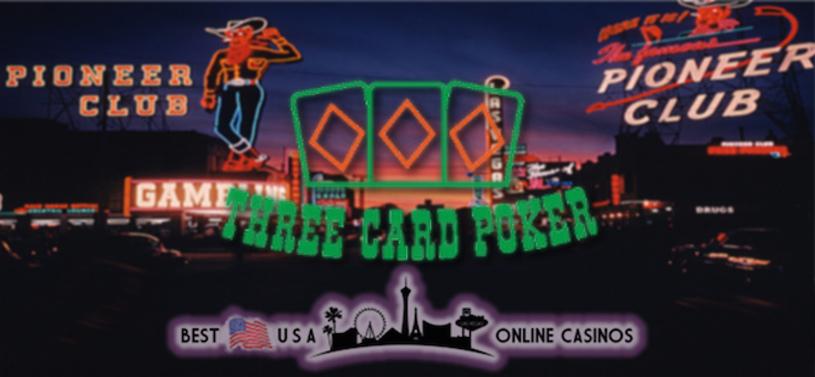 Best Three Card Poker USA Online Casinos