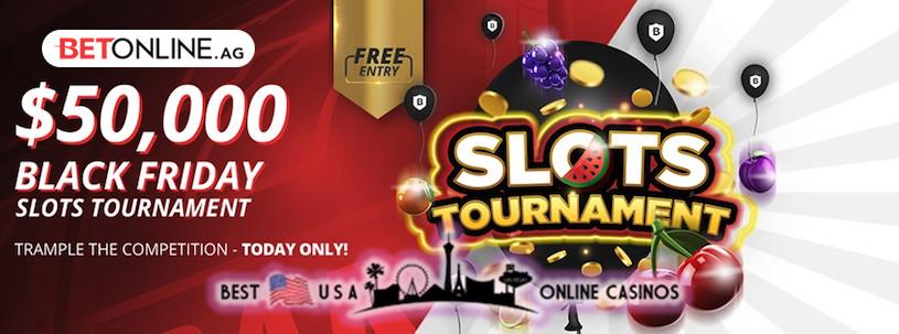 Black Friday USA Casino Online Slots Tournament at BetOnline