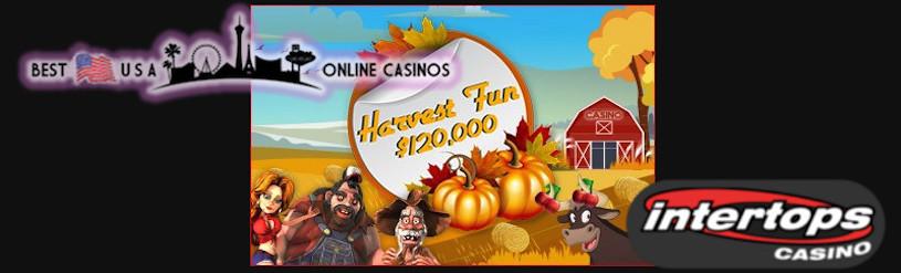 Intertops Harvest Fun Casino Promotion