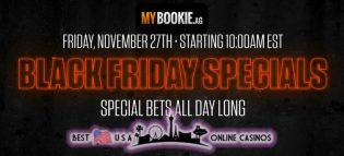 MyBookie Sportsbook Black Friday Specials 2020