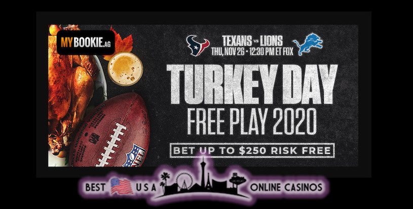 MyBookie Turkey Day Free Play 2020