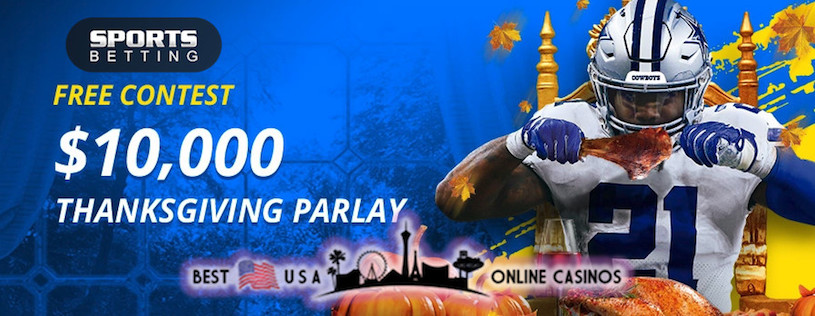 SportsBetting.ag Thanksgiving NFL Parlay Contest 2020
