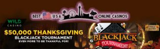 Wild $50,000 Thanksgiving Blackjack Tournament