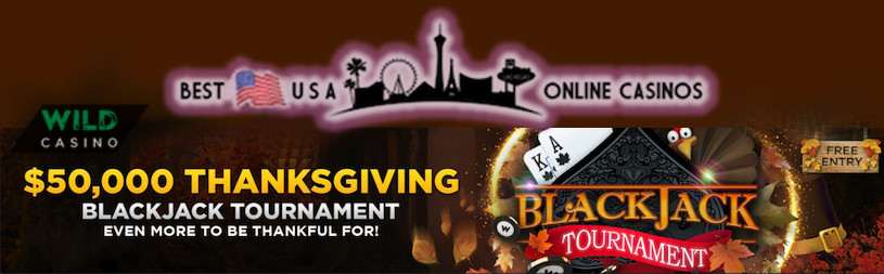 Wild $50,000 Thanksgiving Blackjack Tournament