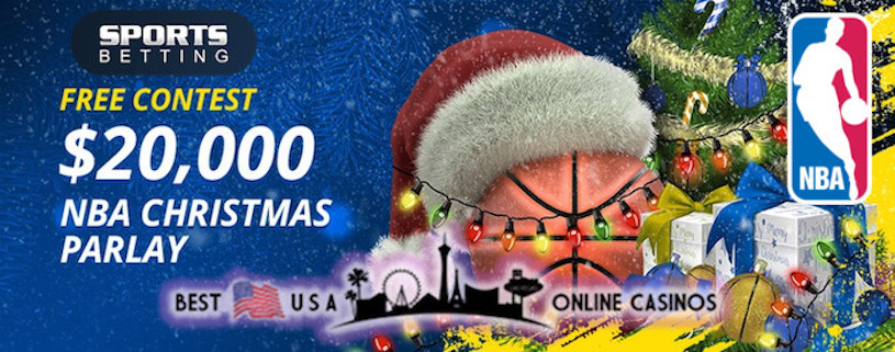 $20,000 NBA Christmas Day Parlay Sports Betting Contest