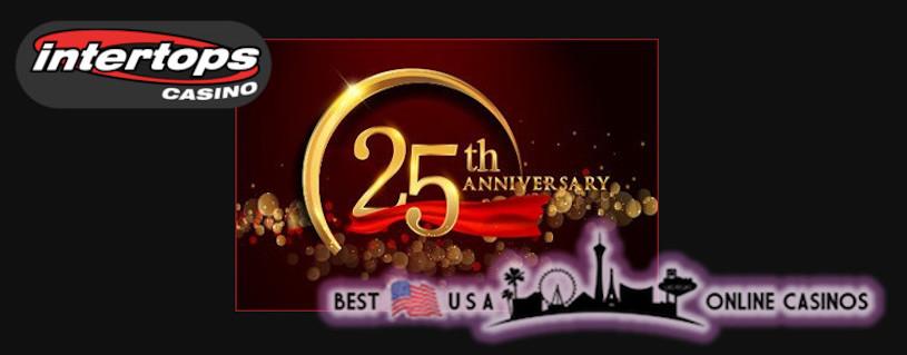 Intertops Casino Celebrates 25th Anniversary By Giving Special Deposit Bonuses