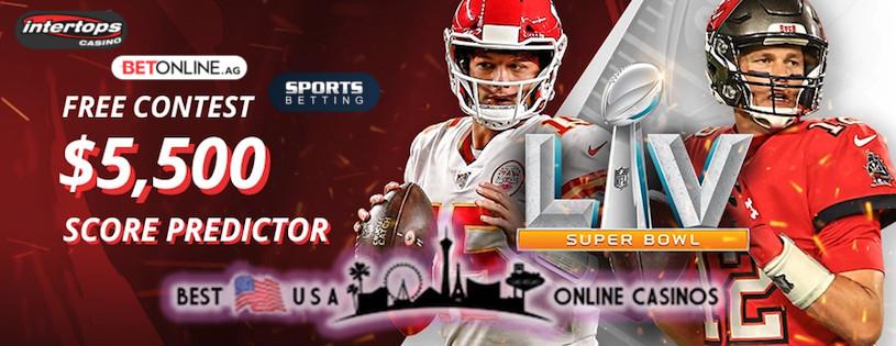 Super Bowl LV Score Predictor Contests
