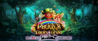 Free Spins for New Paddy's Lucky Forest Slots at Top USA Online Casinos