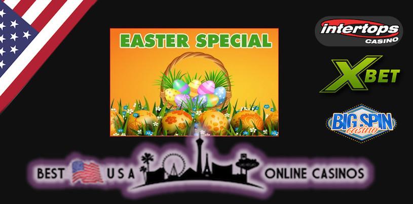 U.S. Online Casinos Giving Easter Bonuses This Weekend