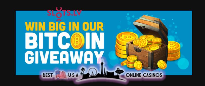 SlotsLv Bitcoin Giveaway 2021