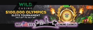 $100,000 Olympics Slots Tournament at Wild.ag USA Casino