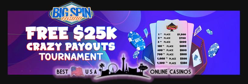 Free $25,000 Crazy Payouts Blackjack Tournament