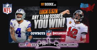 MyBookie Sportsbook NFL Lock of the SZN Promotion