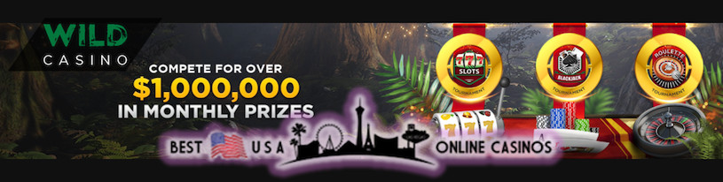 Wild USA Casino $1,000,000 Monthly Tournaments