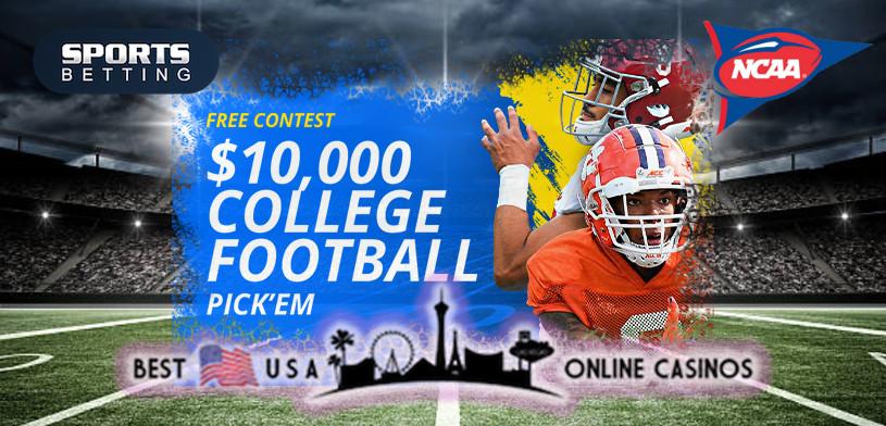 2021 SportsBetting.ag $10,000 College Football Pick'Em